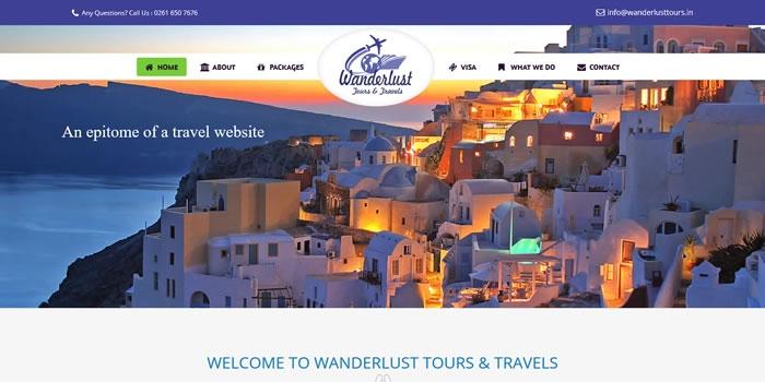 www.wanderlusttours.in